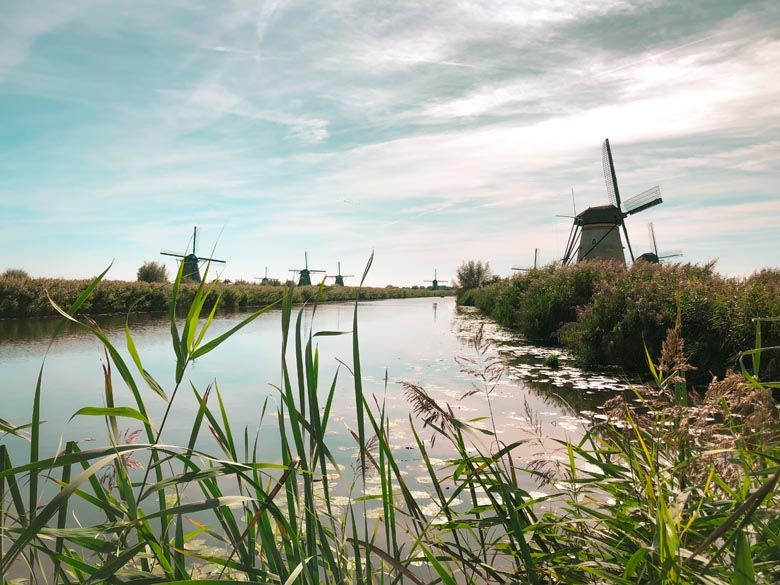 kinderdijk is a top attraction to see in the netherlands and a unesco world heritage site