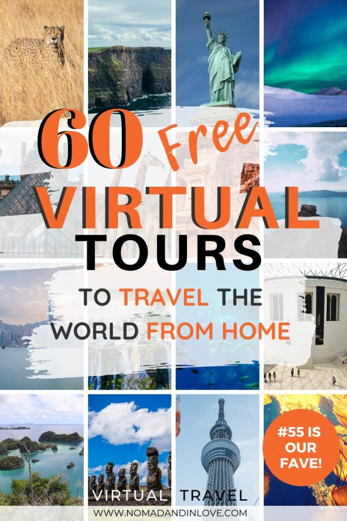 pinterest save image for 60 free virtual tours to travel the world from home during self quarantine