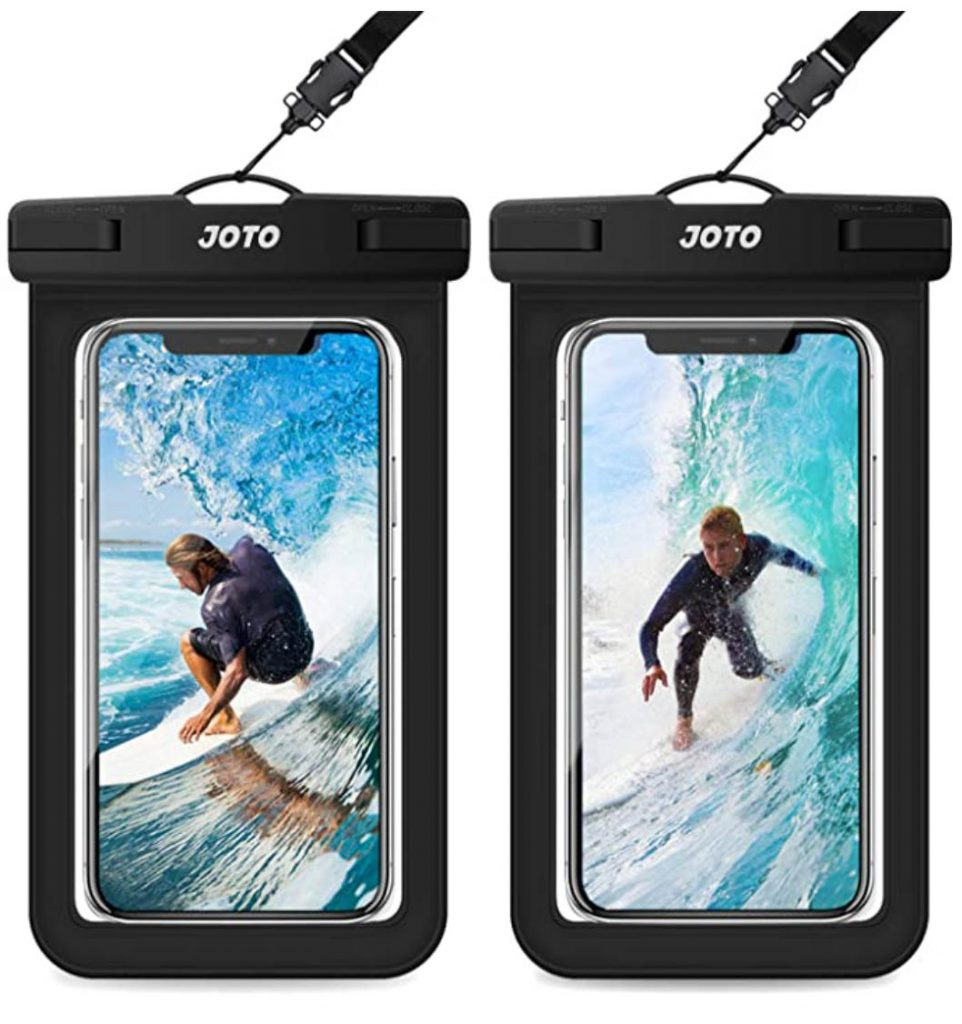 waterproof smartphone pouch are great scuba gifts for christmas stocking stuffers