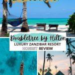 pinterest save image for where to stay in zanzibar island tanzania